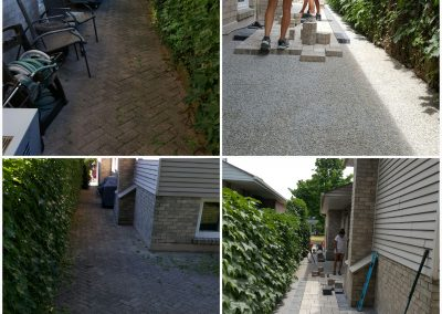 JRC hardscaping  updates a tired walkway