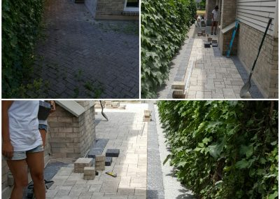 JRC transforms a side yard space into an attractive walkway