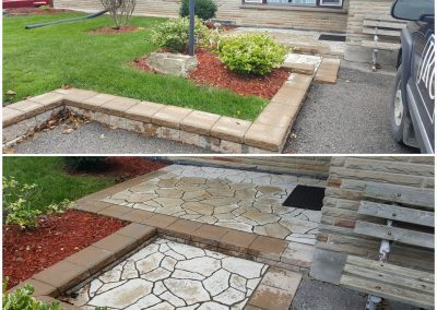 JRC landscaping can address maintenance issues and update the curb appeal of your home