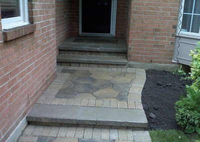 JRC Inc New Stone Entry Steps