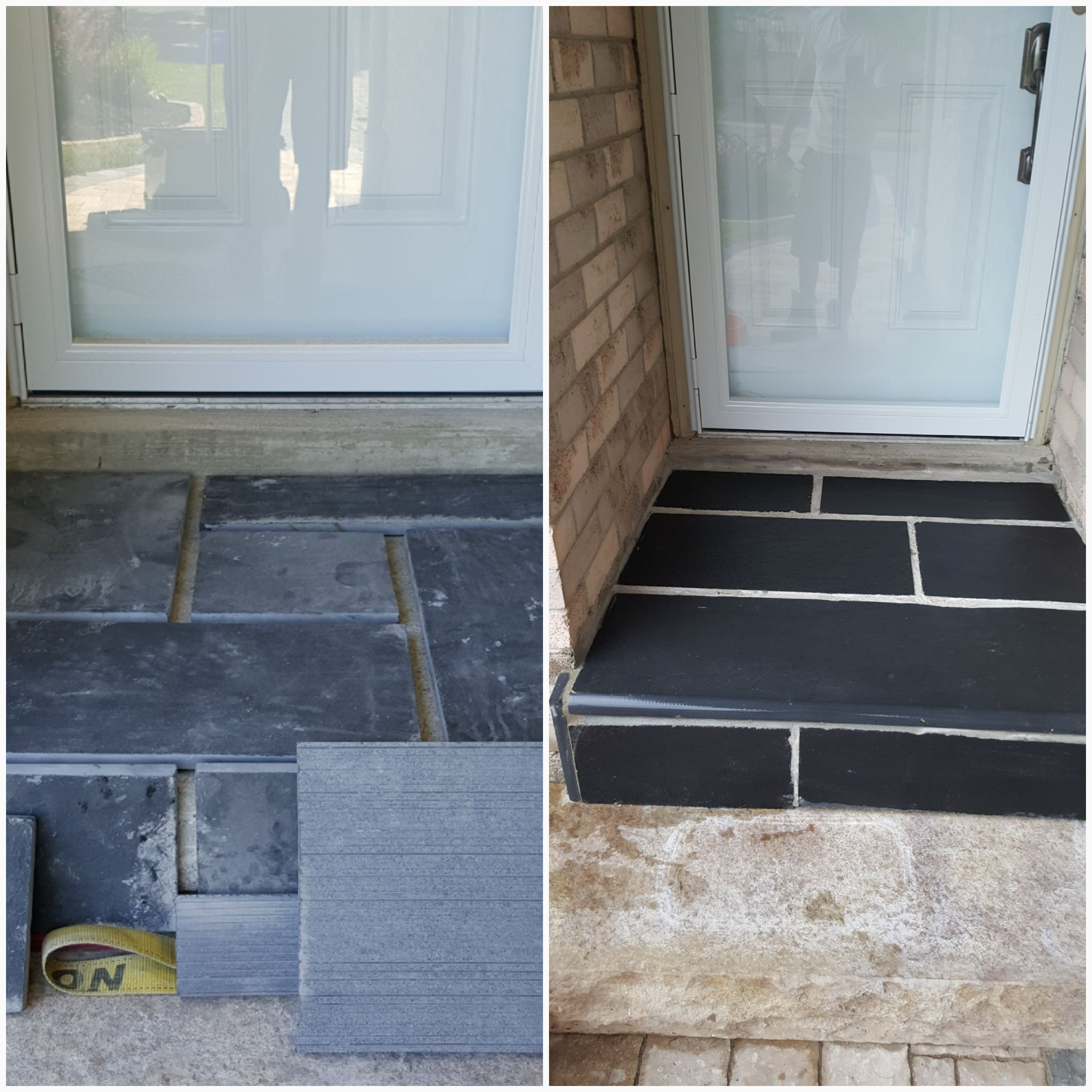 Porch Overlay Project by JRC Hardscaping