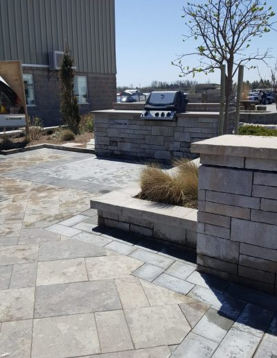 JRC Landscaping Creating Stone Patio and Feature Project Displays for Arnts The Landscape Supplier (125)