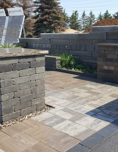 JRC Landscaping Creating Stone Patio and Feature Project Displays for Arnts The Landscape Supplier (62)