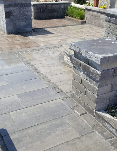 JRC Landscaping Creating Stone Patio and Feature Project Displays for Arnts The Landscape Supplier (71)